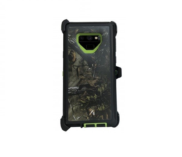 Defend Heavy Duty For SAMSUNG NOTE 9 – Green-Camo