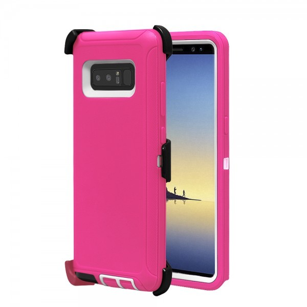 Defend Heavy Duty For SAMSUNG Glaxy Note 8-Pink