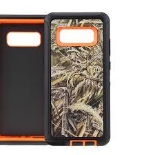 Defend Heavy Duty For SAMSUNG Glaxy Note 8-Orange Camo
