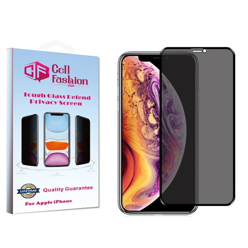 AniGlare Tough Glass Defend Privacy Screen For Apple iPhone 11 Pro Max/XS Max (Single Pack)