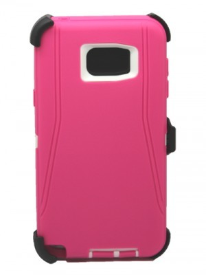 Defend Heavy Duty For SAMSUNG NOTE 5–Pink
