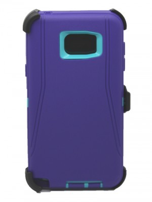 Defend Heavy Duty For SAMSUNG NOTE 5–Purple