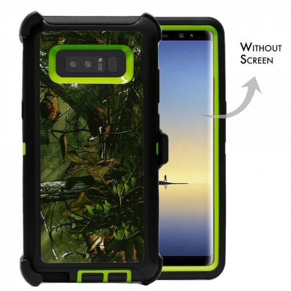 Defend Heavy Duty For SAMSUNG Glaxy Note 8-Green Camo