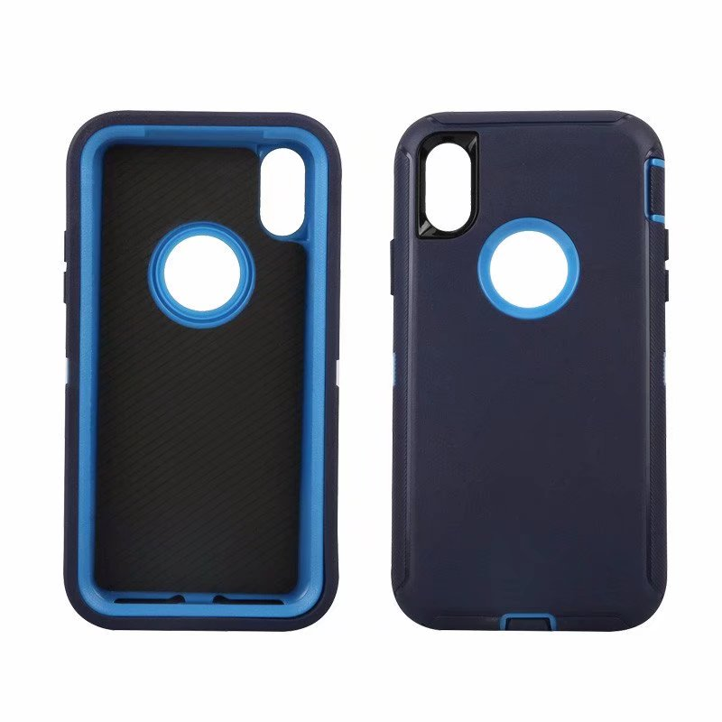 Defend Heavy Duty For Apple iPhone X/XS- Navy Blue