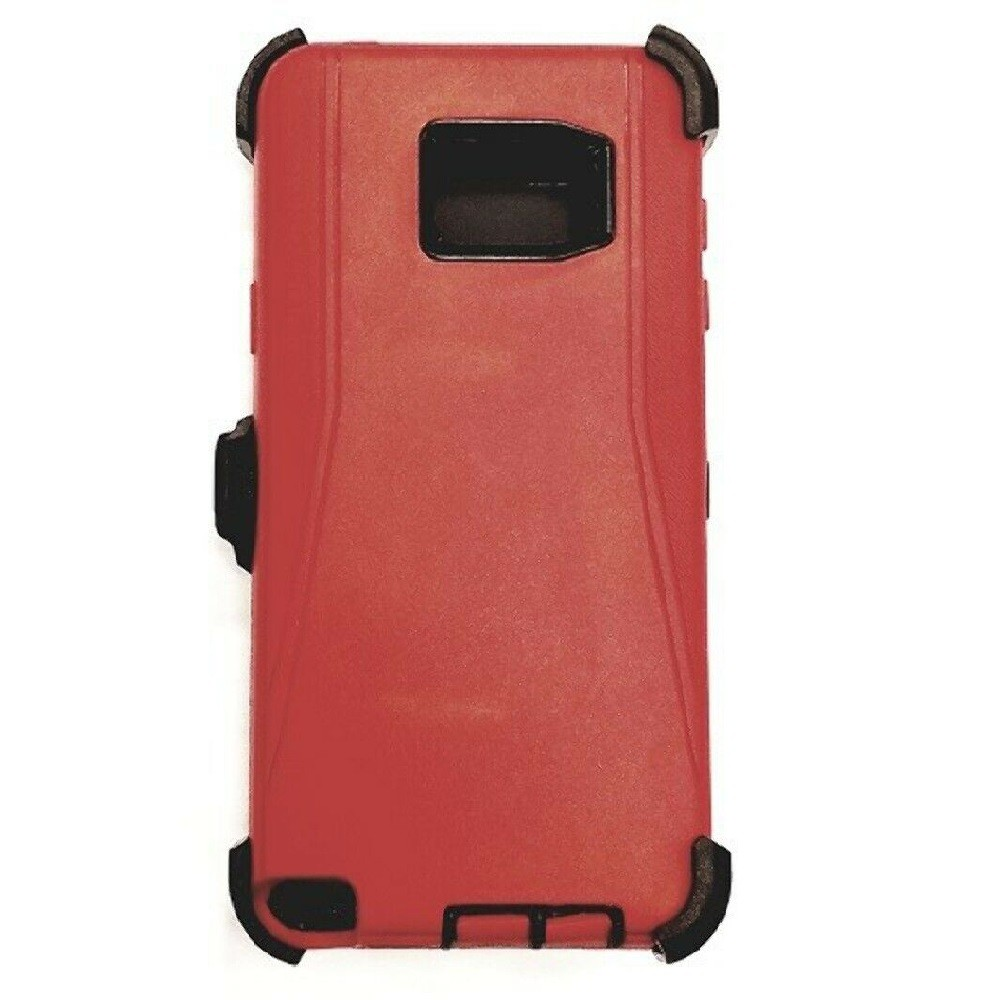 Defend Heavy Duty For SAMSUNG Glaxy S6 –Red Gray