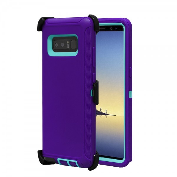 Defend Heavy Duty For SAMSUNG Glaxy Note 8-Purple