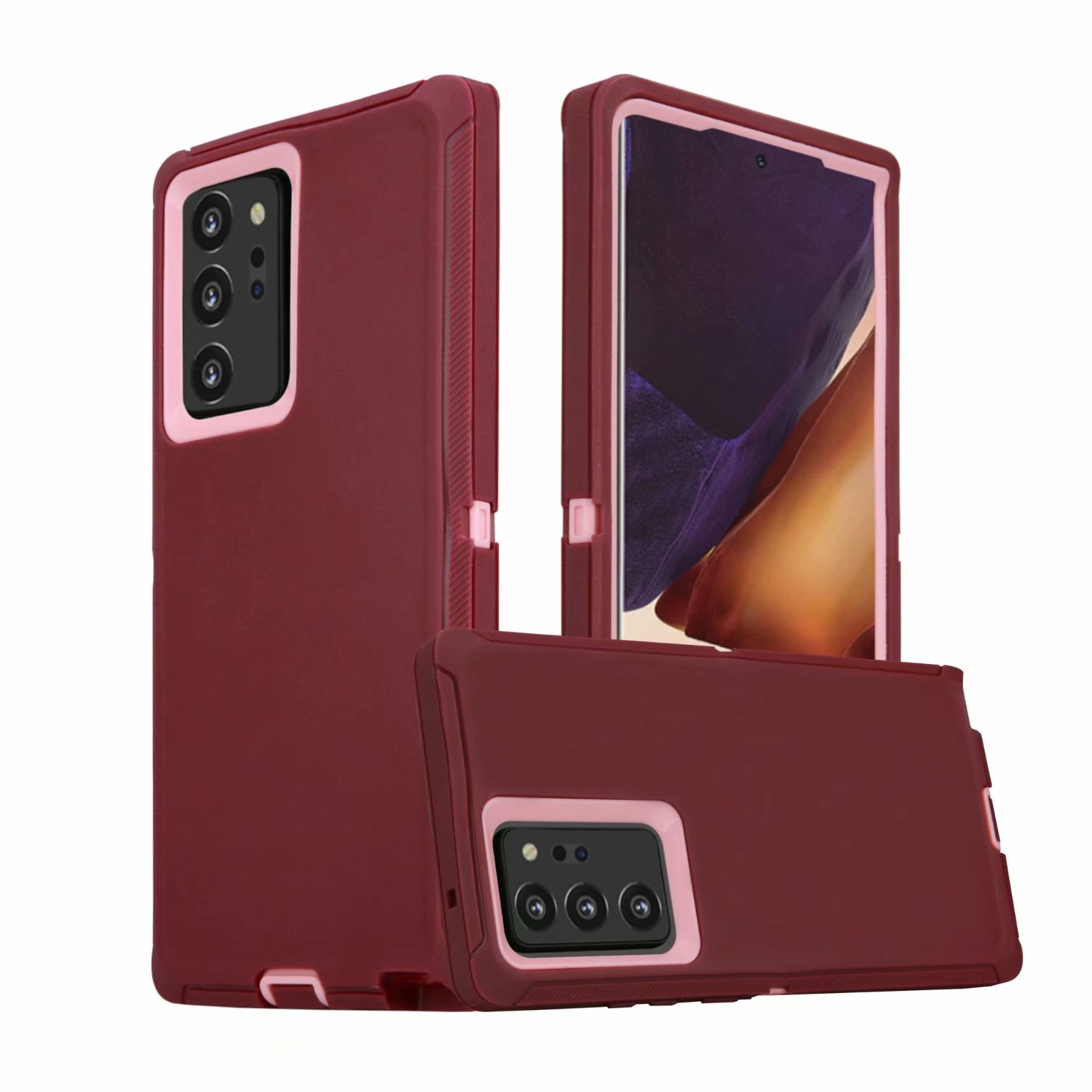 Defend Heavy Duty For SAMSUNG NOTE 20 ULTRA –Burgundy