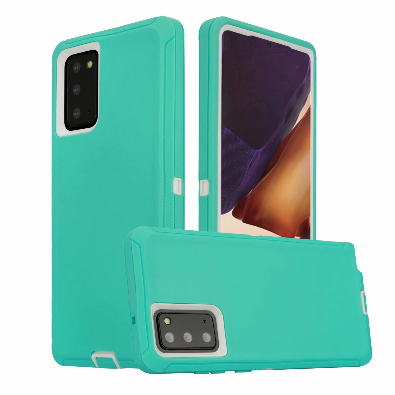 Defend Heavy Duty For SAMSUNG NOTE 20 –Teal