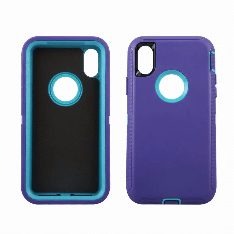 Defend Heavy Duty For Apple iPhone X/XS- Purple