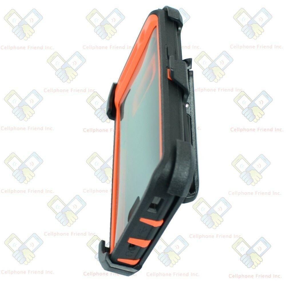 Defend Heavy Duty For SAMSUNG Glaxy S6 – Orange Camo