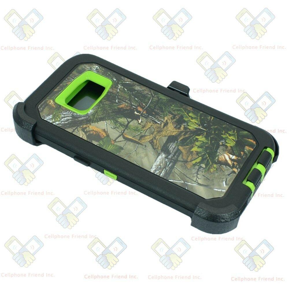 Defend Heavy Duty For SAMSUNG Glaxy S6 –Green Camo