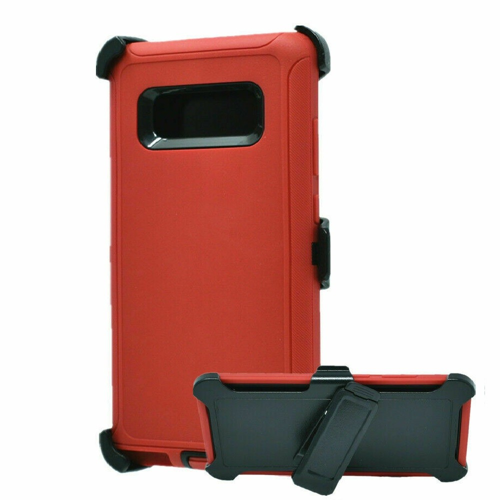 Defend Heavy Duty For SAMSUNG Glaxy Note 8-Red