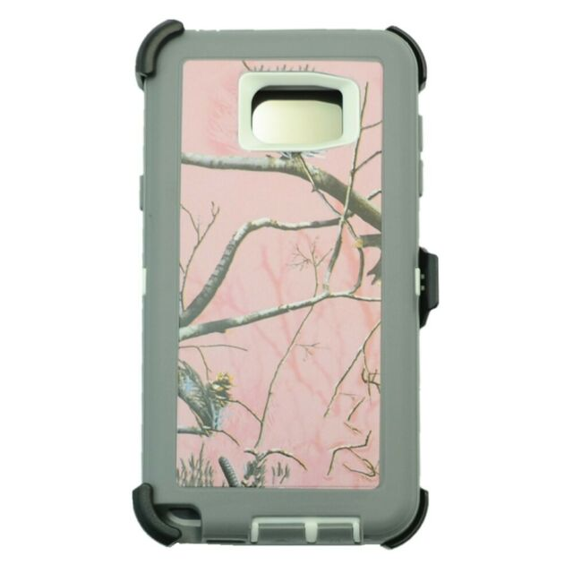 Defend Heavy Duty For SAMSUNG NOTE 5–Pink Camouflage