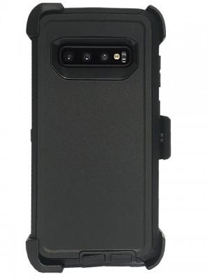 Defend Heavy Duty For SAMSUNG Glaxy S10-Black