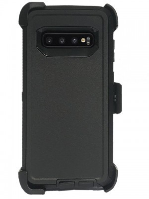 Defend Heavy Duty For SAMSUNG Glaxy S10 Plus-Black