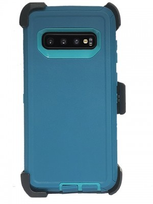 Defend Heavy Duty For SAMSUNG Glaxy S10 Plus-Teal