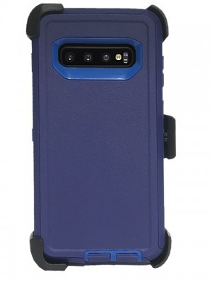 Defend Heavy Duty For SAMSUNG Glaxy S10-Navy Blue