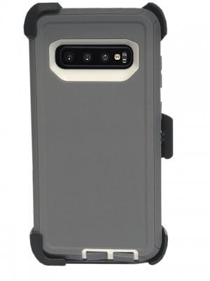 Defend Heavy Duty For SAMSUNG Glaxy S10 Plus-Gray
