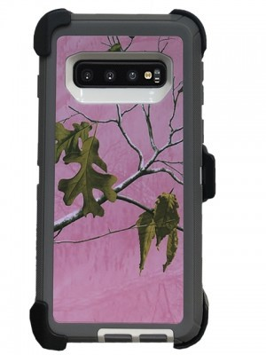 Defend Heavy Duty For SAMSUNG Glaxy S10-Pink Camo