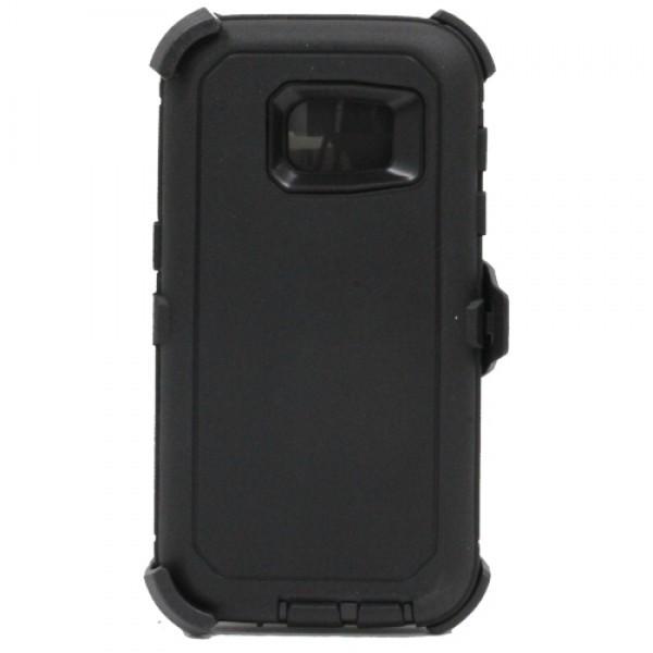 Defend Heavy Duty For SAMSUNG Glaxy S6 –Black