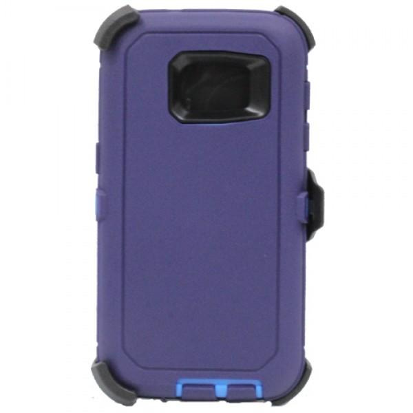 Defend Heavy Duty For SAMSUNG Galaxy S7 EDGE–Navy Blue
