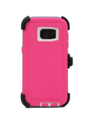 Defend Heavy Duty For SAMSUNG Glaxy S6 –Pink