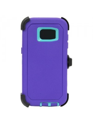 Defend Heavy Duty For SAMSUNG Glaxy S6 –Purple