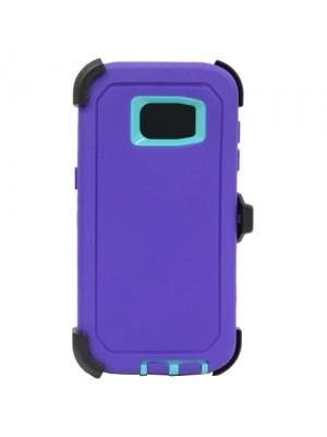 Defend Heavy Duty For SAMSUNG Galaxy S7 EDGE –Purple