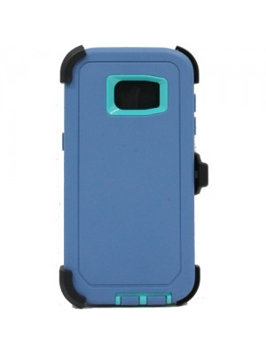 Defend Heavy Duty For SAMSUNG Glaxy S6 –Teal