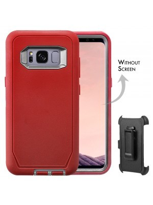 Defend Heavy Duty For SAMSUNG GALAXY S8 –Red