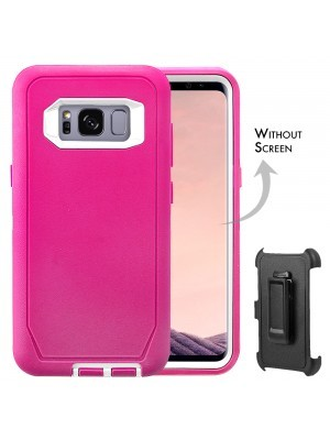 Defend Heavy Duty For SAMSUNG GALAXY S8 – Pink