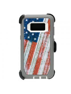 Defend Heavy Duty For SAMSUNG GALAXY S8 PLUS –USA Flag