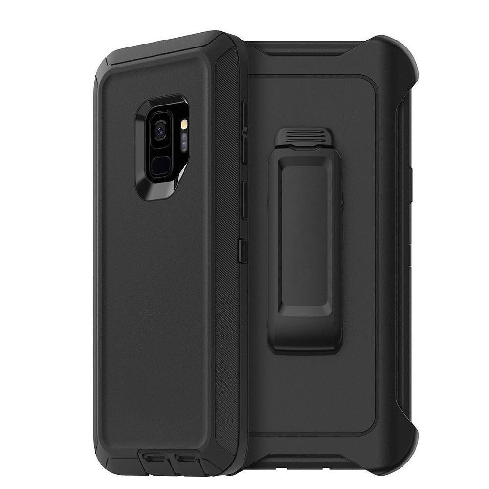 Defend Heavy Duty For SAMSUNG Glaxy S9-Black