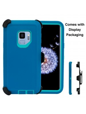 Defend Heavy Duty For SAMSUNG Glaxy S9-Teal