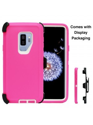 Defend Heavy Duty For SAMSUNG Glaxy S9-Pink