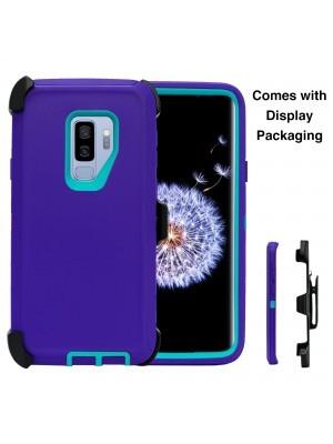 Defend Heavy Duty For SAMSUNG Glaxy S9 Plus-Purple